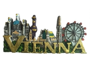 custom Vienna Resin Souvenir Magnet wholesale manufacturer and supplier in China