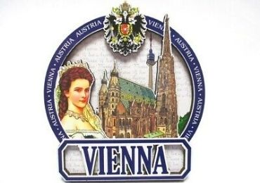 custom Vienna Sissi Souvenir Magnet wholesale manufacturer and supplier in China