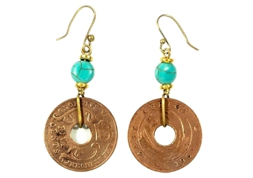custom Africa Souvenir Earrings wholesale manufacturer and supplier in China