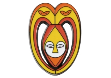 custom Africa Souvenir Enamel Badge wholesale manufacturer and supplier in China