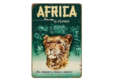 custom Africa Souvenir Metal Sign wholesale manufacturer and supplier in China