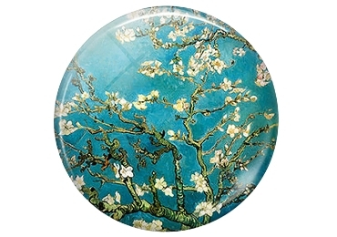 custom Almond Blossoms Acrylic Magnet wholesale manufacturer and supplier in China