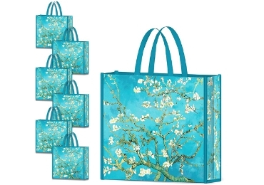 custom Almond Blossoms Non-woven Bag wholesale manufacturer and supplier in China