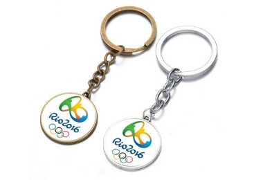 custom Brazil Souvenir Keychain wholesale manufacturer and supplier in China