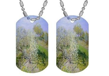 custom Claude Monet Dog Tag wholesale manufacturer and supplier in China