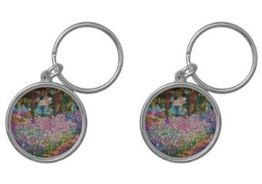 custom Claude Monet Epoxy Keychain wholesale manufacturer and supplier in China