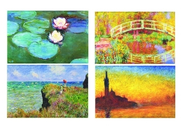 custom Claude Monet Fridge Magnet wholesale manufacturer and supplier in China