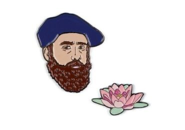 custom Claude Monet Lapel Pin wholesale manufacturer and supplier in China