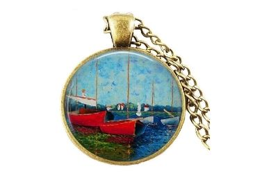 custom Claude Monet Necklace wholesale manufacturer and supplier in China