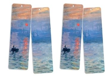 custom Claude Monet Souvenir Bookmarks wholesale manufacturer and supplier in China