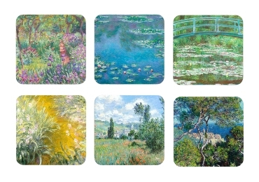 custom Claude Monet Souvenir Coaster wholesale manufacturer and supplier in China