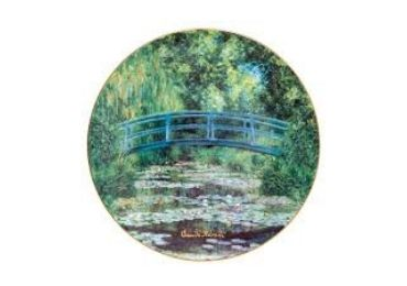 custom Claude Monet Souvenir Plate wholesale manufacturer and supplier in China