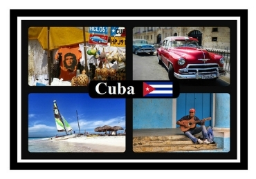 Custom Cuba Souvenir Fridge Magnet wholesale manufacturer and supplier in China
