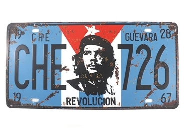 custom Cuba Souvenir License Plate wholesale manufacturer and supplier in China