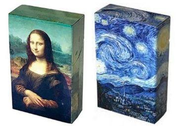 custom Da Vinci Cigarette Boxes wholesale manufacturer and supplier in China