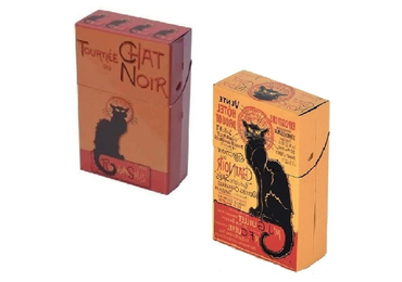 custom French Cat Cigarette Cases wholesale manufacturer and supplier in China