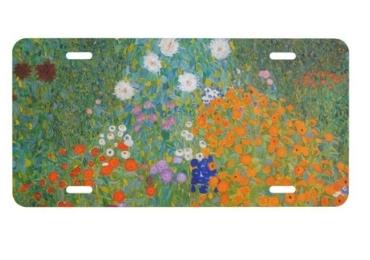 custom Gustav Klimt License Plate wholesale manufacturer and supplier in China