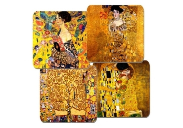 custom Gustav Klimt Souvenir Coasters wholesale manufacturer and supplier in China