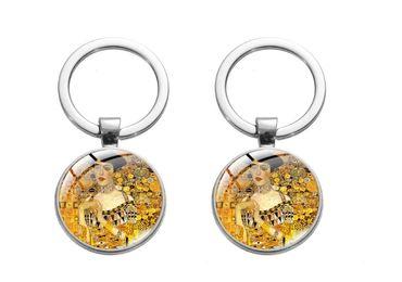 custom Gustav Klimt Souvenir Keychain wholesale manufacturer and supplier in China