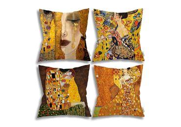 custom Gustav Klimt Souvenir Pillows wholesale manufacturer and supplier in China