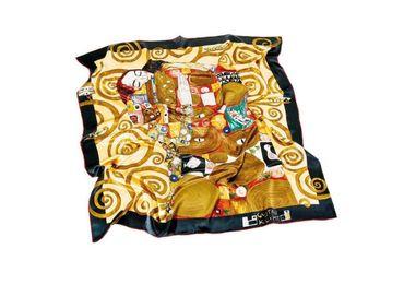 custom Gustav Klimt Souvenir Scarf wholesale manufacturer and supplier in China