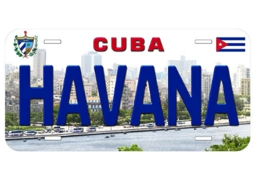 custom Havana Souvenir License Plate wholesale manufacturer and supplier in China