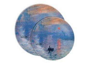 custom Impression Sunrise Ceramic Plate wholesale manufacturer and supplier in China