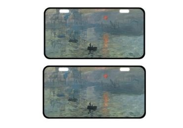 custom Impression Sunrise License Plate wholesale manufacturer and supplier in China