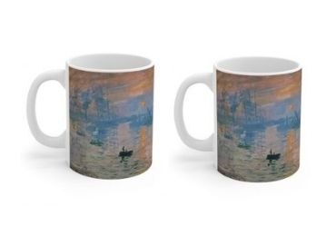 custom Impression Sunrise Porcelain Mug wholesale manufacturer and supplier in China