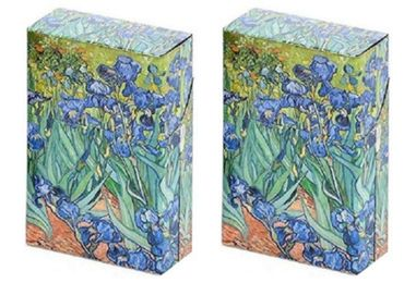 custom Irises Art Cigarette Boxes wholesale manufacturer and supplier in China