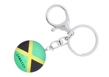 custom Jamaica Souvenir Acrylic Keychring wholesale manufacturer and supplier in China