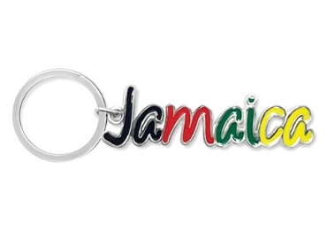 custom Jamaica Souvenir Metal Keychain wholesale manufacturer and supplier in China