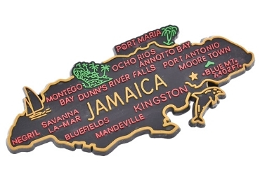 custom Jamaica Souvenir Rubber Magnet wholesale manufacturer and supplier in China