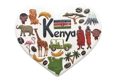 custom Kenya Souvenir Resin Magnet wholesale manufacturer and supplier in China