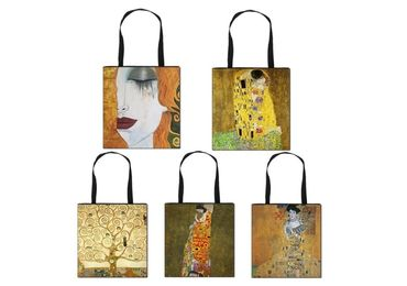 custom Klimt Painting Souvenir Bags wholesale manufacturer and supplier in China