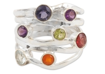 custom Latin America Gemstone Rings wholesale manufacturer and supplier in China