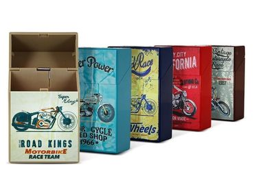 custom Metal Cigarette Cases Gift wholesale manufacturer and supplier in China