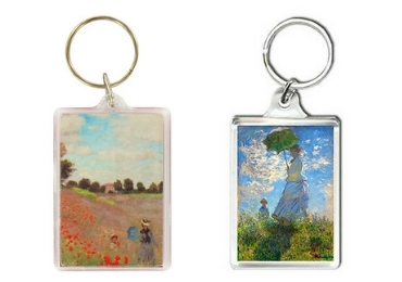 custom Monet Acrylic Keychain wholesale manufacturer and supplier in China