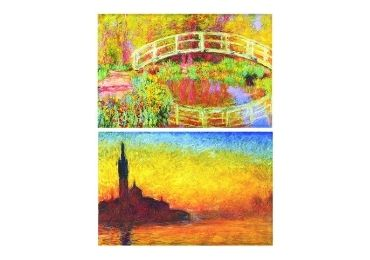 custom Monet Bridge Tinplate Magnet wholesale manufacturer and supplier in China