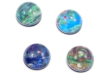 custom Monet Painting Souvenir Magnets wholesale manufacturer and supplier in China