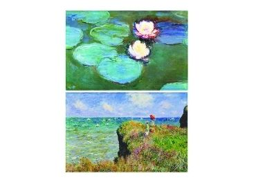 custom Monet WaterLilies Tinplate Magnet wholesale manufacturer and supplier in China