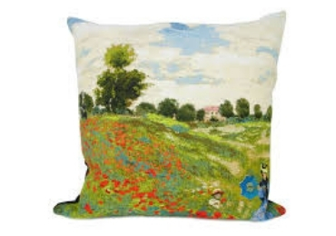 custom Poppy Field Cotton Pillow wholesale manufacturer and supplier in China