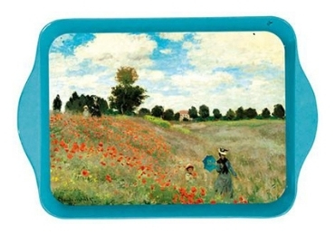 custom Poppy Field Metal Tray wholesale manufacturer and supplier in China