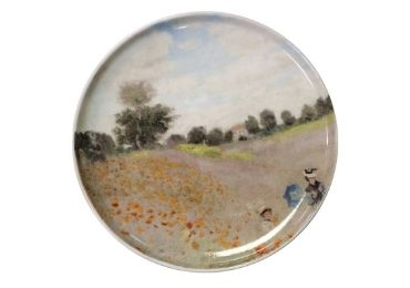 custom Poppy Field Porcelain Plate wholesale manufacturer and supplier in China