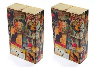 custom Retro French Cigarette Boxes wholesale manufacturer and supplier in China
