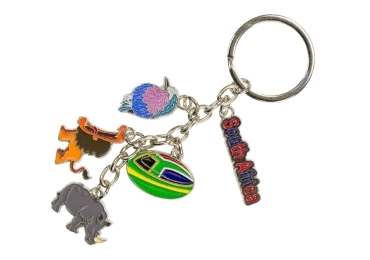 custom South Africa Souvenir Keyring wholesale manufacturer and supplier in China
