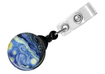 custom Starry Night Badge Holder wholesale manufacturer and supplier in China