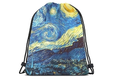 custom Starry Night Drawstring Bag wholesale manufacturer and supplier in China