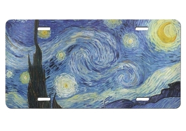 custom Starry Night License Plate wholesale manufacturer and supplier in China