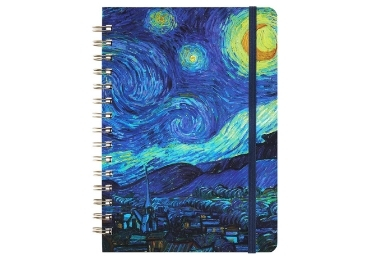 custom Starry Night Lined Journal wholesale manufacturer and supplier in China